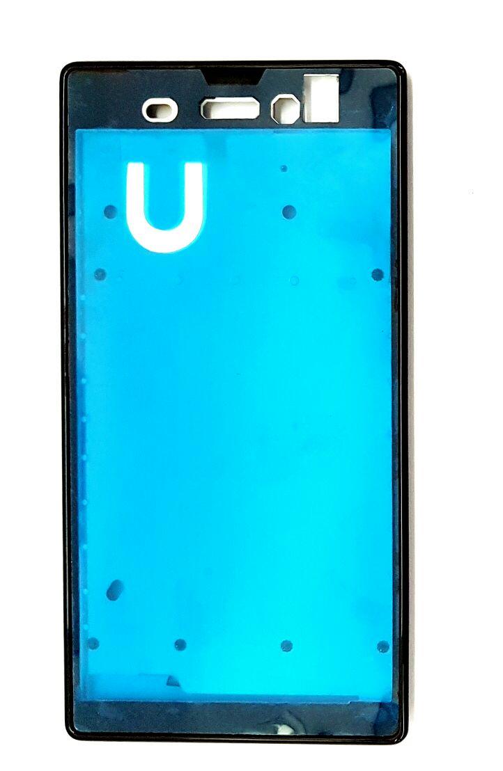 Aro Lateral Carcaca Sony Xperia T3 D5102 D5103 D5106 Preto Dual Sim