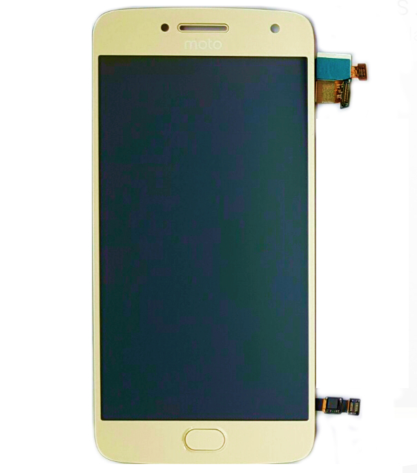 Frontal Moto G5 Plus XT1683 5.2 Dourado Original