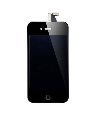 Frontal Apple Iphone 4 4g Preto - 1 Linha