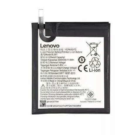 Bateria Lenovo K6 K33a48 BL267 3000mAh Original Retirada