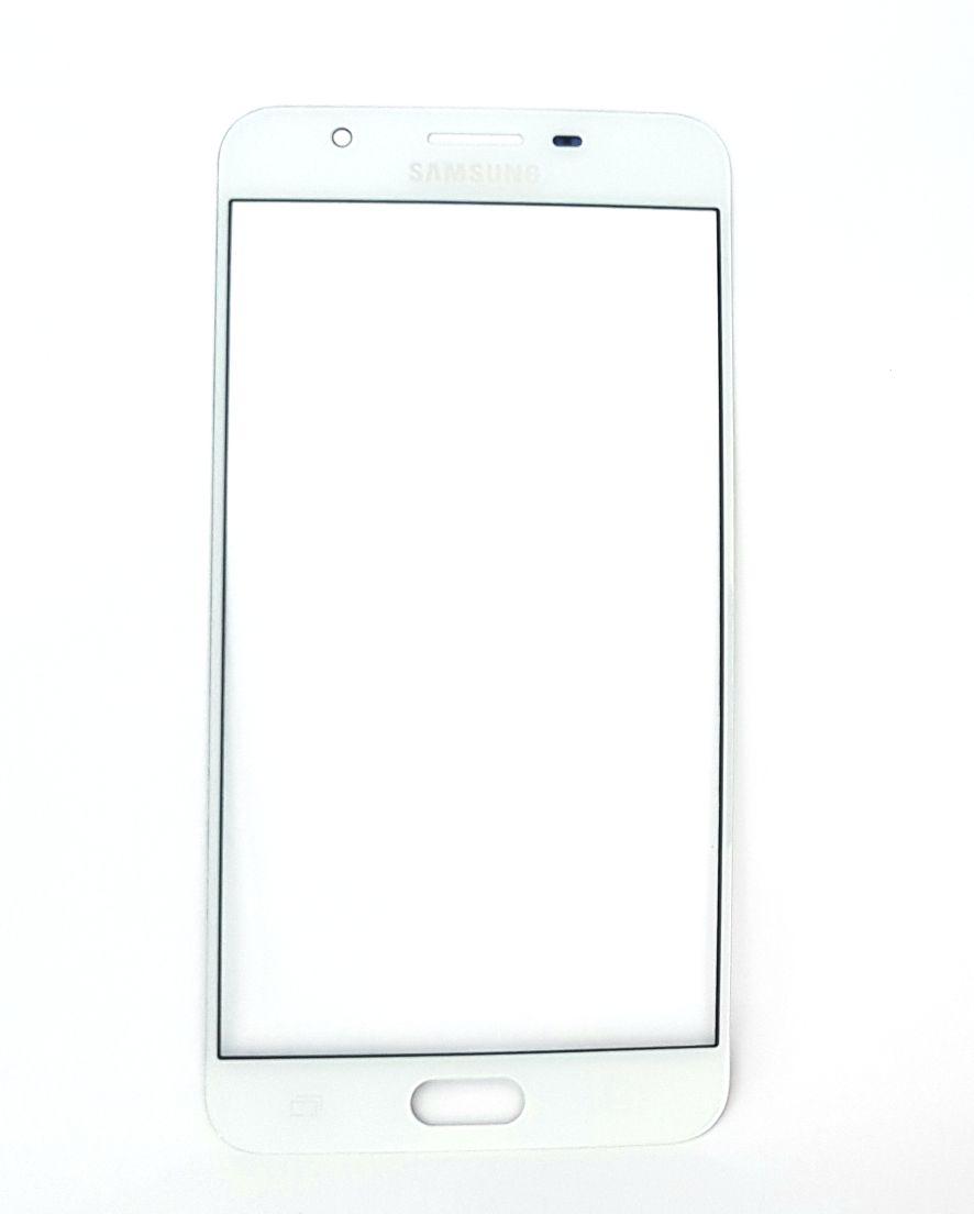 Lente Vidro Samsung J7 Prime SM-G610 Branco (Cola UV)