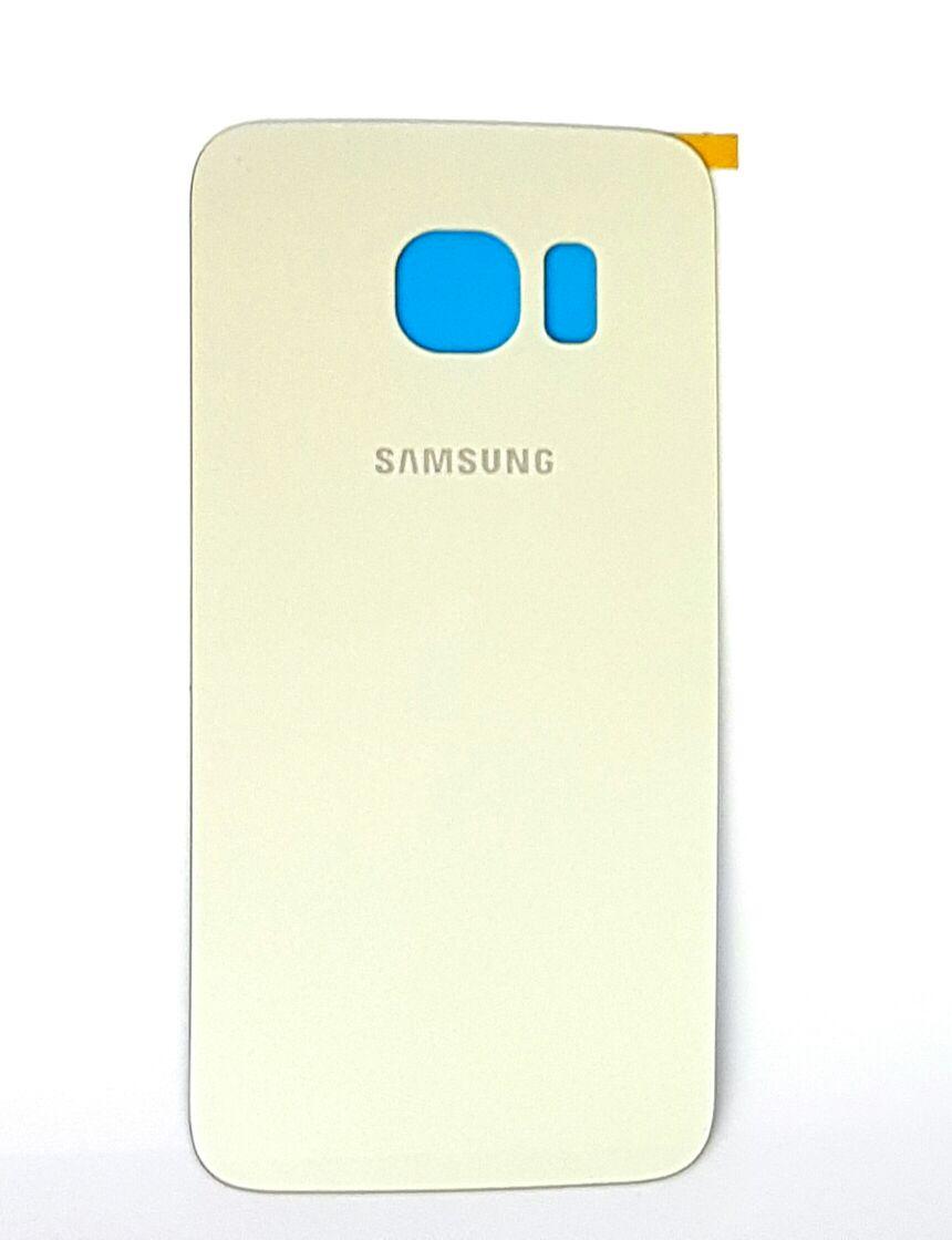 Tampa Traseira Samsung S6 Edge G925 Dourado 1 Linha