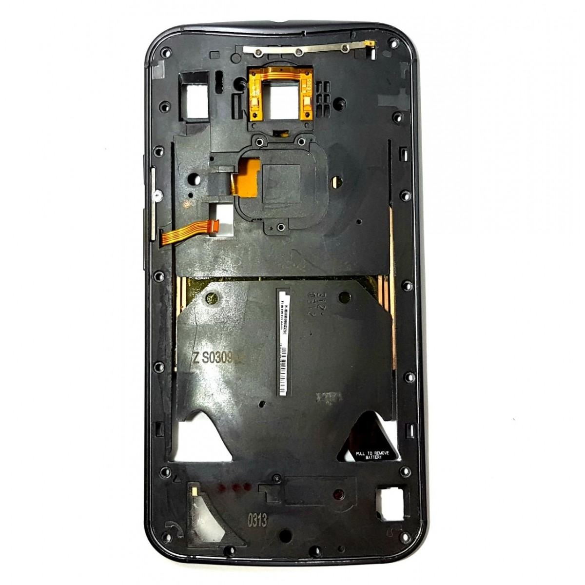 Aro Carcaca Lateral Motorola X2 XT1097 Preto