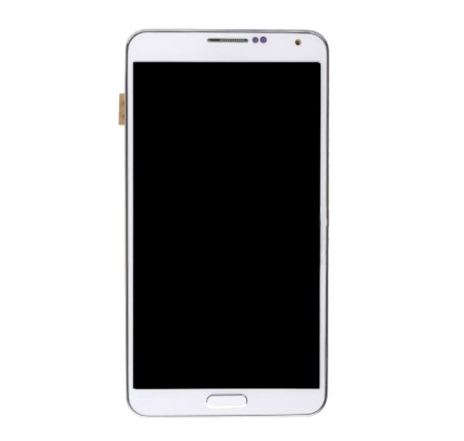 Display Frontal Note 3 N9000 N900A Branco com Aro