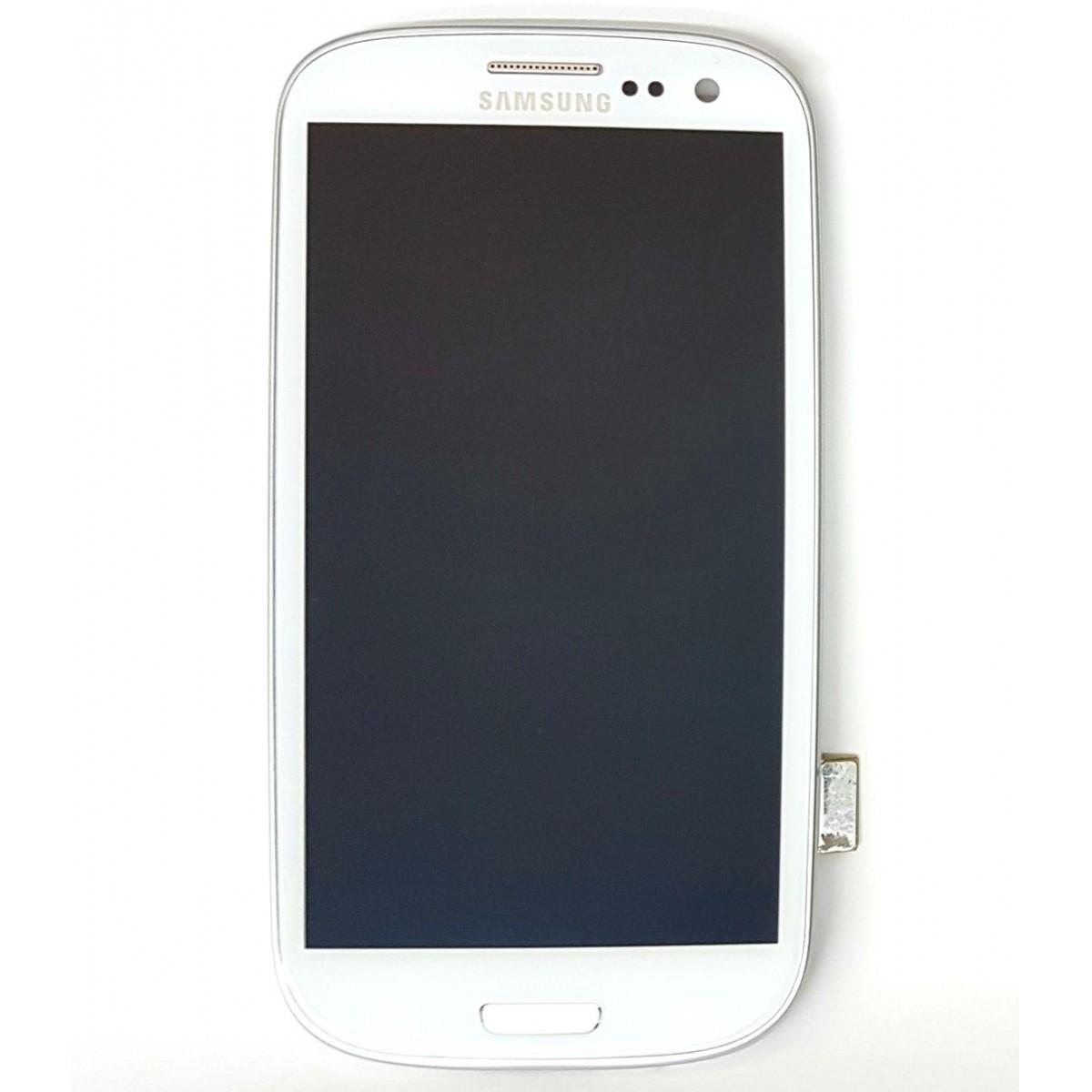 Frontal Samsung S3 4G I9305 Branco AAA