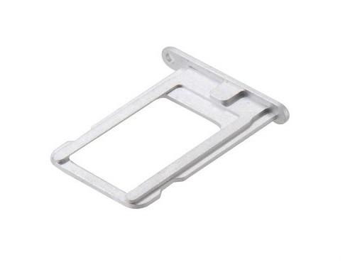 Bandeja Gaveta Tray Sim Chip Apple iPhone 5 Prata
