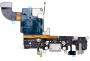 Flex Conector Carga Microfone  iPhone 6s 4.7 Preto A1633 A1687 A1688