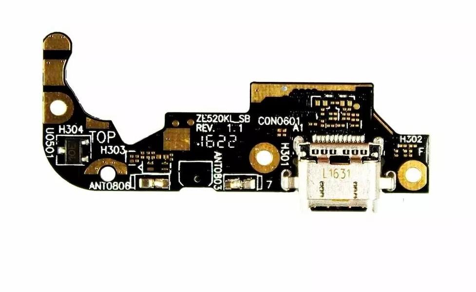 Placa Flex Conector Carga Carregador Asus Zenfone 3 Ze520kl
