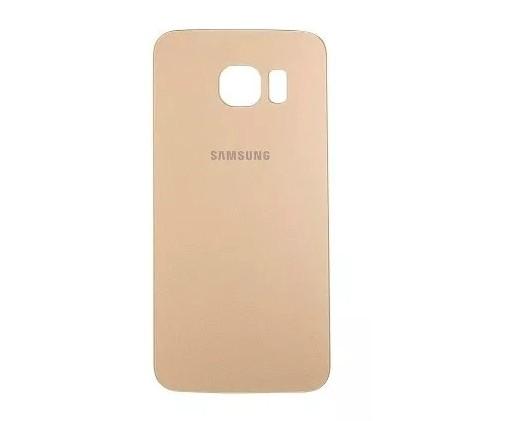 Tampa Traseira Samsung S6 Edge Plus G928 SM-G928 Dourado 1 Linha