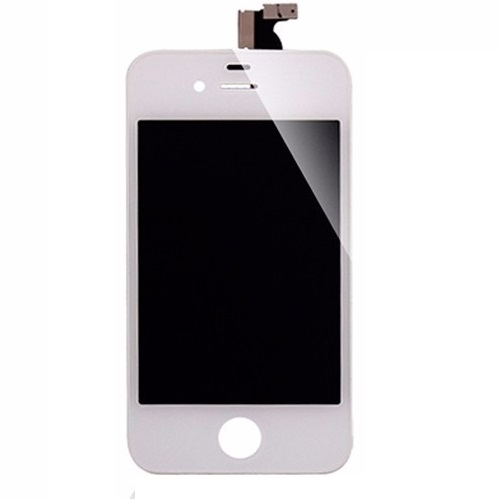 Frontal Apple Iphone 4 4g Branco 1 Linha