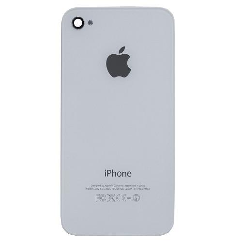 Tampa Traseira Apple Iphone 4 4g Branco