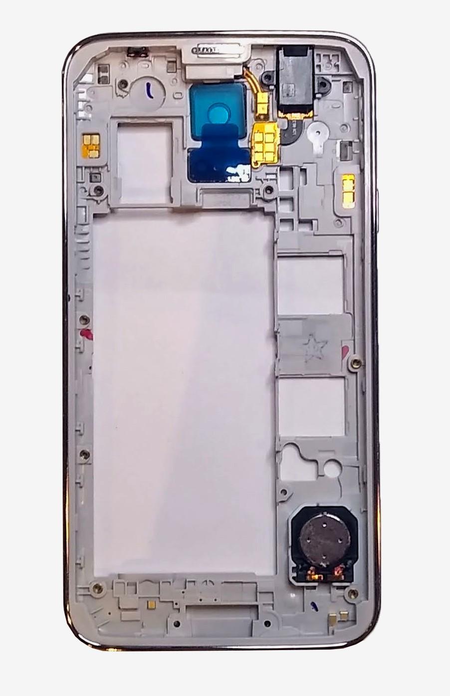 Aro Carcaça Traseira S5 G900 Prata Dual Chip Original