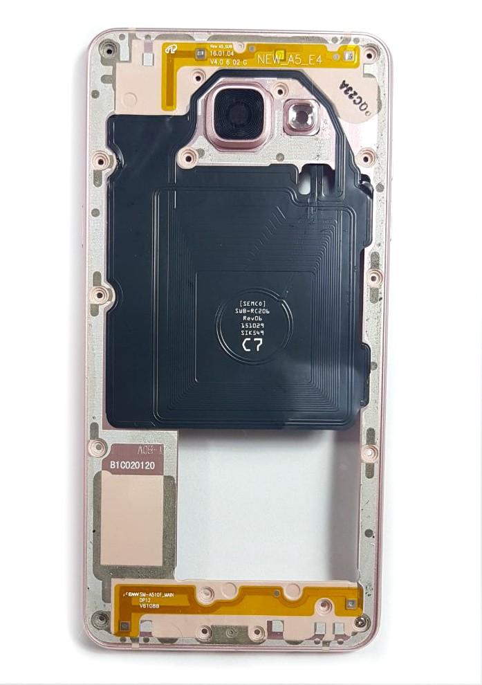 Aro Lateral Samsung A510 Rosa Original