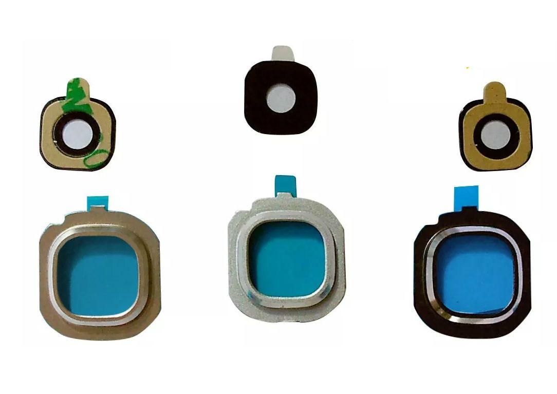Aro Lente Vidro Câmera J7 Metal J710 - Escolha Cor