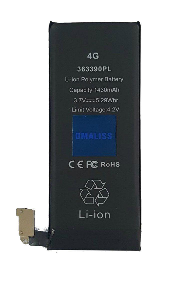 Bateria iPhone 4g A1349 A1332 1420mah 1 Linha