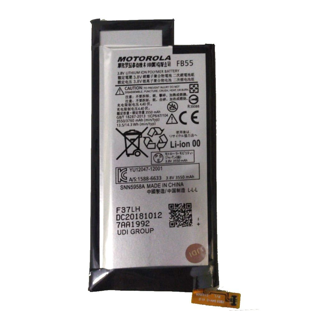 Bateria Fb55 Motorola Moto X Force Xt1580 3760mah 1 Linha
