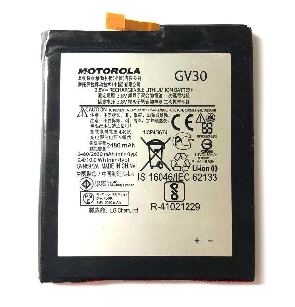 Bateria Gv30 Moto Z Power/ Moto Z Style Xt1650 XT1650-05 XT1650-03 2480mAh Original