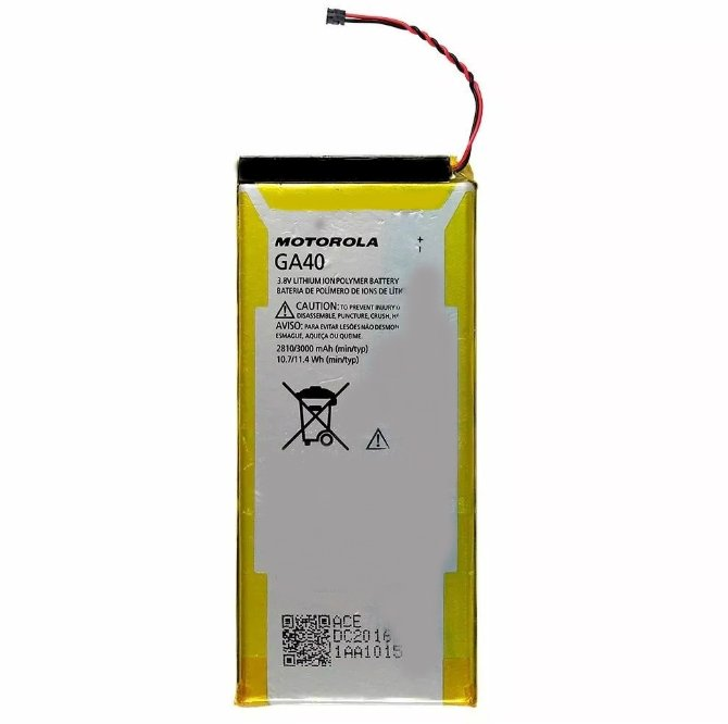 Bateria Moto G4 Normal Xt1622 Xt1626/ Moto G4 Plus Xt1640 GA40 2810mAh Original