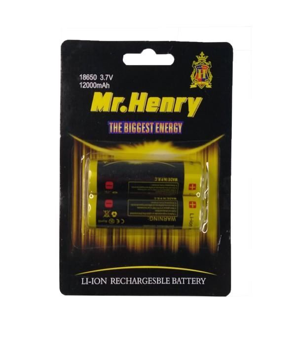 Bateria Pilha Recarregável 18650 Com 3.7V 12000mAh