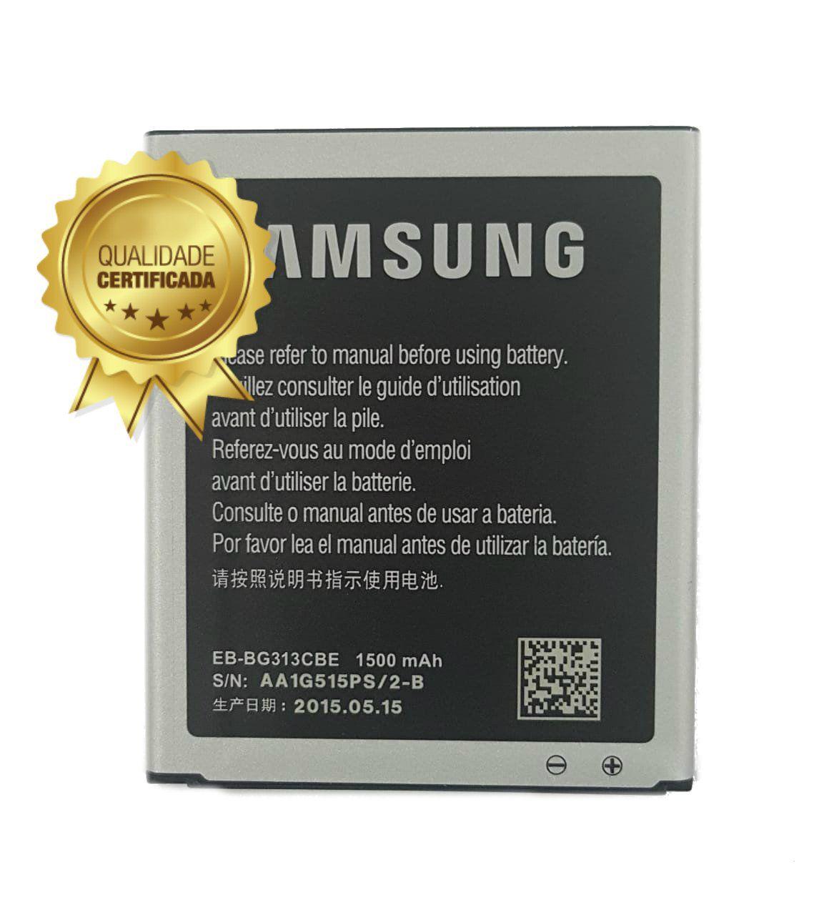 Bateria Ace G313 G316 G318 Compatível J105 8190 1500mAh Original