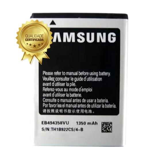 Bateria Samsung Ace S5830 S6313 EB494358 1350MAH Original
