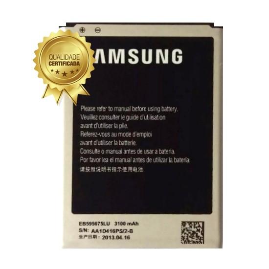 Bateria Note 2 N7100 EB595675LU 3100mAh Compatível Samsung
