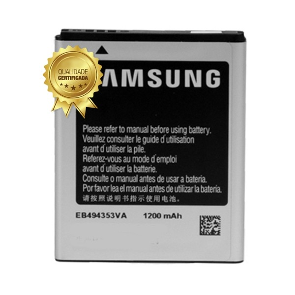 Bateria Pocket Neo Gt-S5310 EB494353VU 1200Mah 1 Linha