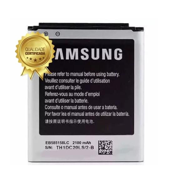 Bateria S3 Slim SM G-3812 EB585158 2100MAH Original