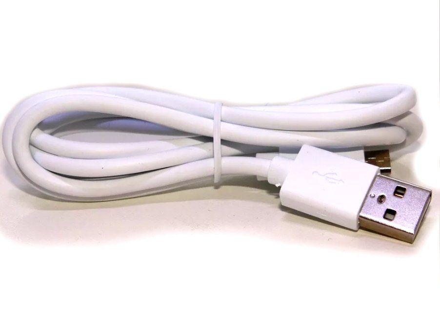 Cabo de dados V8 Branco 1 Metro Original Compatível Samsung
