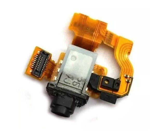 Flex Conector Fone P2 Sony Xperia Z3 Compact D5803 D5833 com Sensor Proximidade