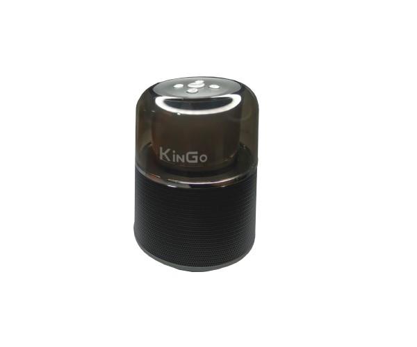 Caixa De Som Bluetooth Com LED KG-012