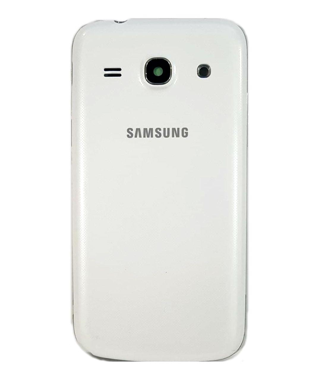 Carcaça Completa com Aro Samsung G3502 Branco 1 Linha