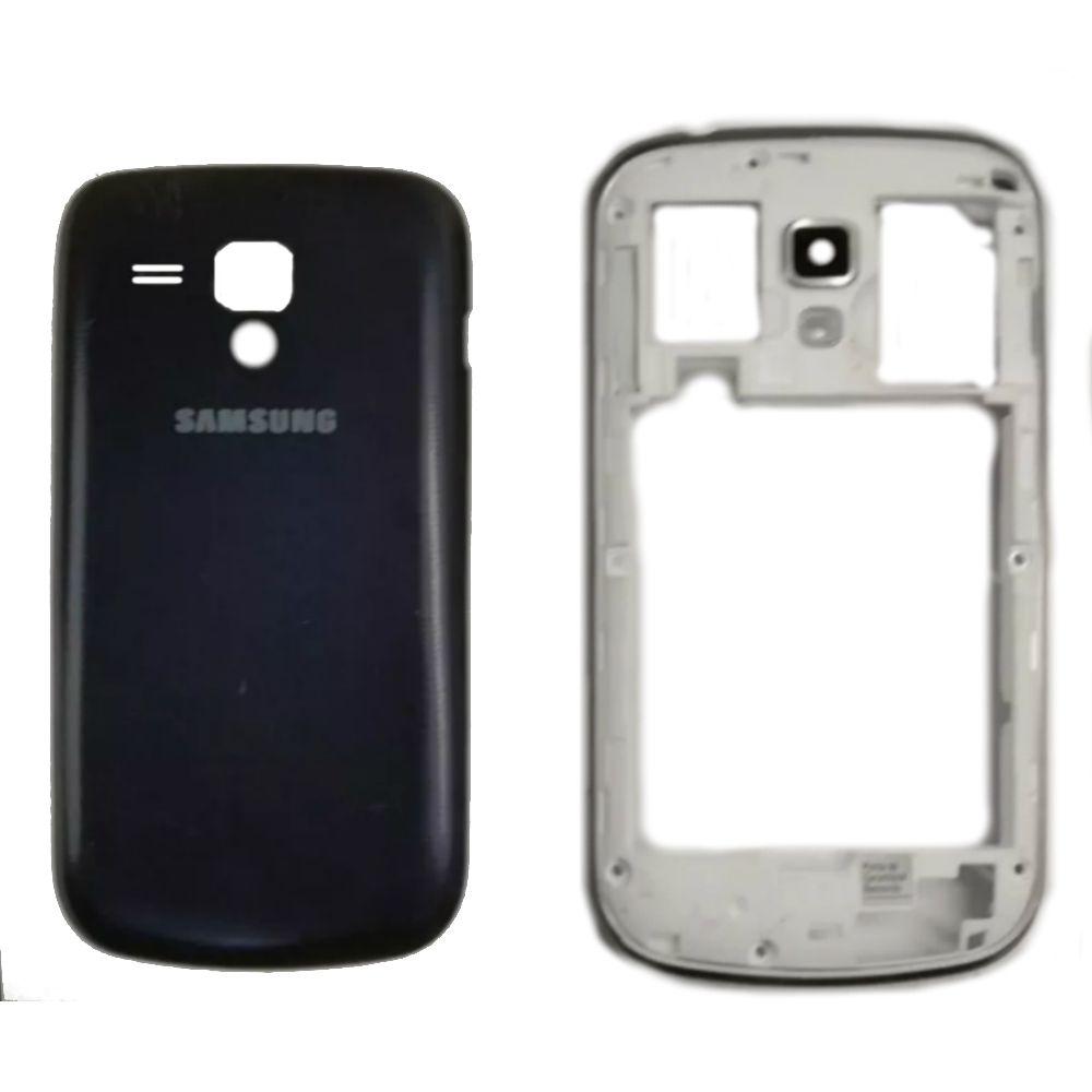 Carcaça Samsung S DUOS GT-S7562 Grafite