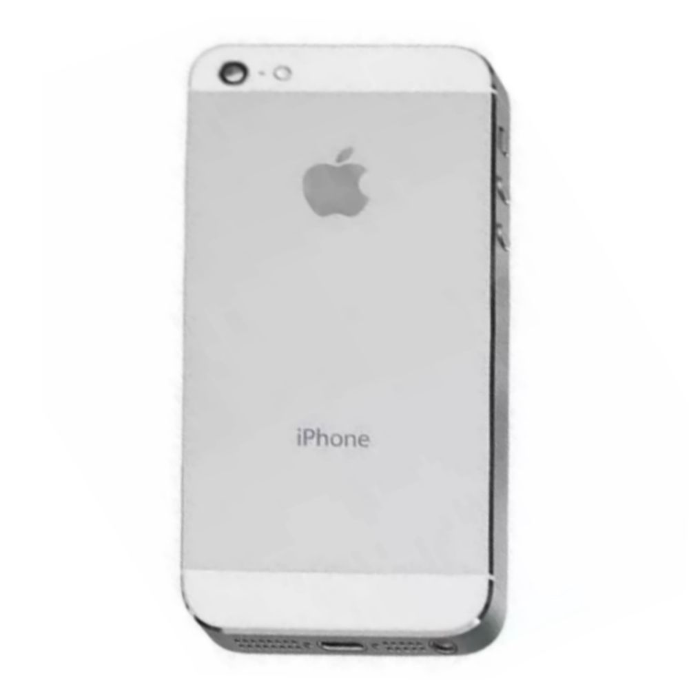 Carcaça Tampa Completa iPhone 5G Branco com Flex