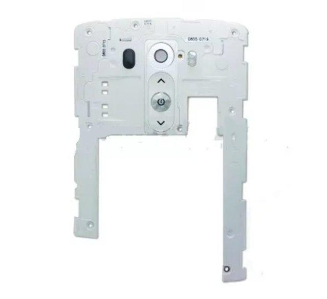 Carcaça Traseira com Flex Power LG G3 D855 Branco