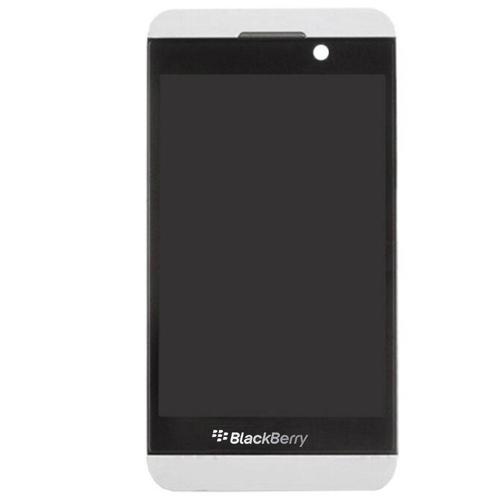 Display Frontal Blackberry Z10 Branco Versão para 3G