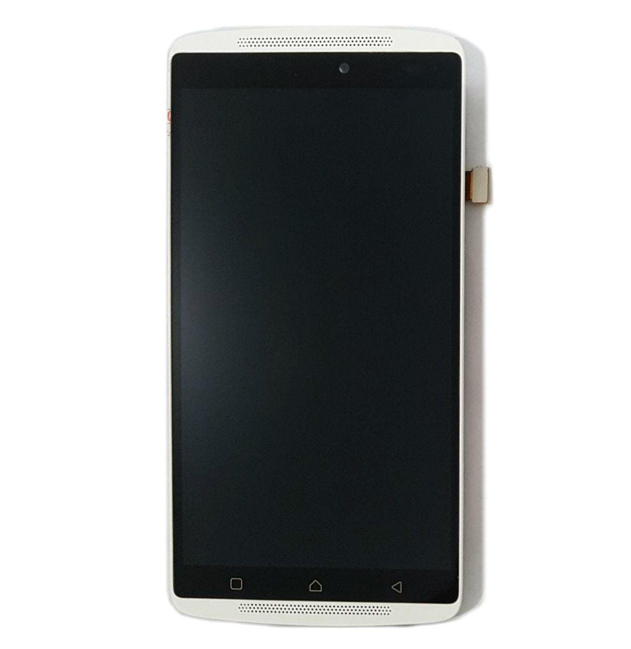 Display Frontal Lenovo Vibe A7010 / A701a48 com Aro Branco 1 Linha Max