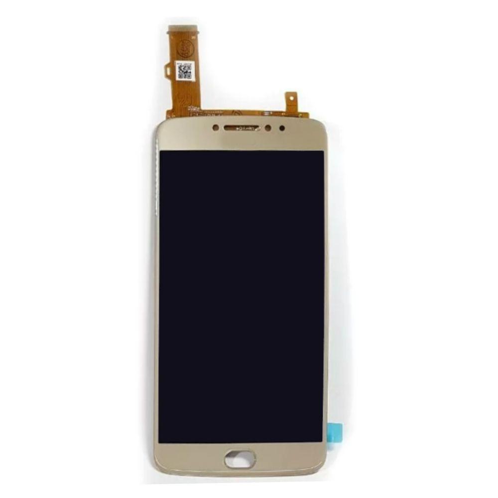 Display Frontal Moto E4 Plus XT1673  Dourado sem Aro