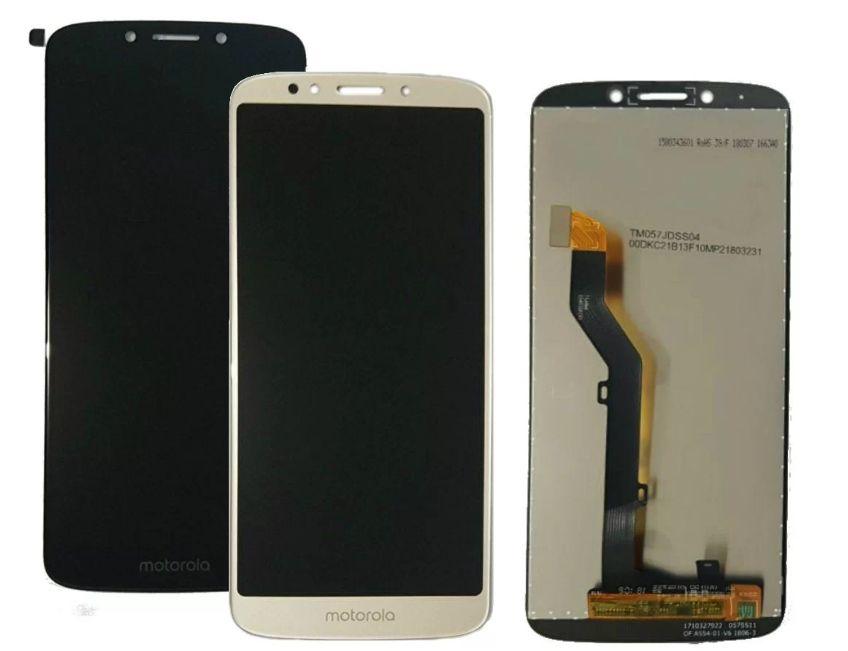 Display Frontal Moto E5 XT1944/ Moto G6 Play XT1922 Preto 1 Linha Max - Escolha Cor
