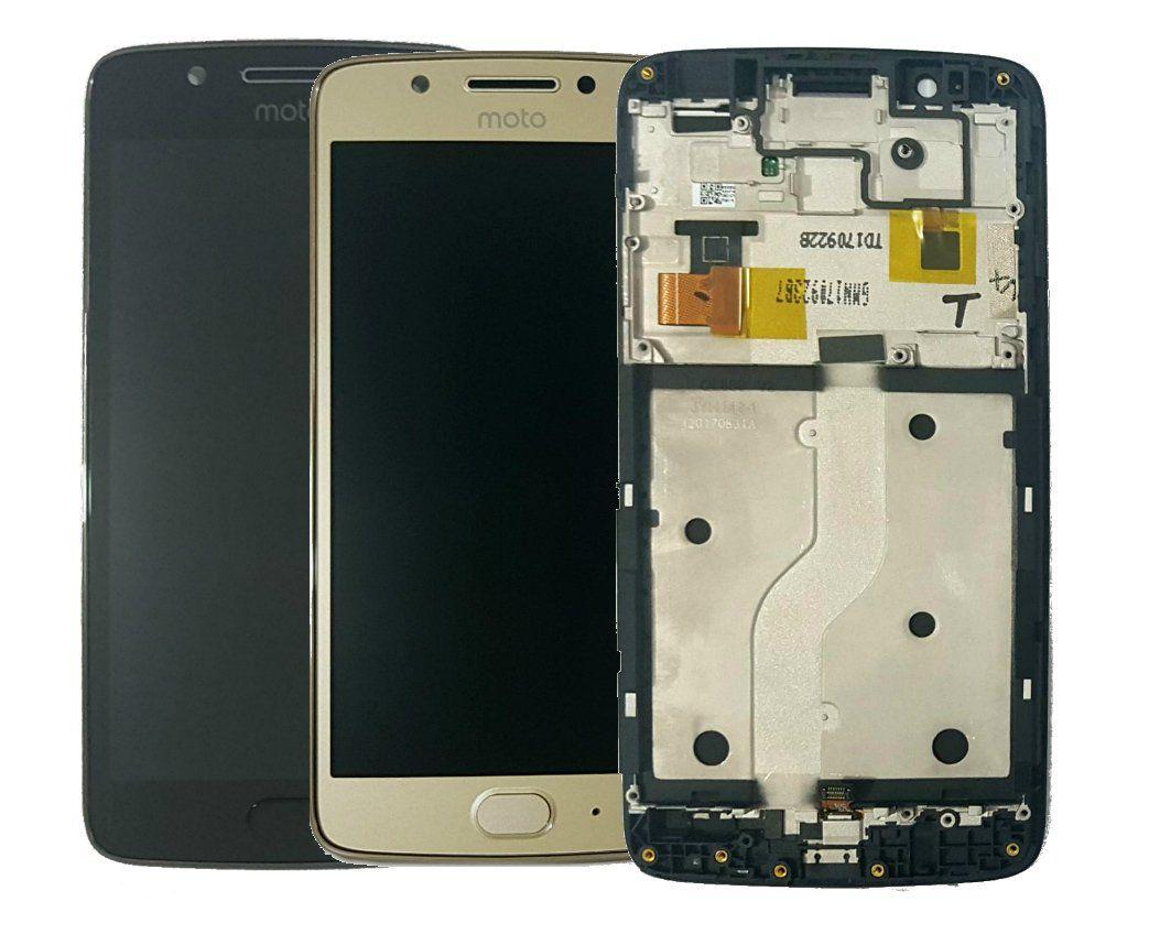 Display Frontal Moto G5 XT1672 Original com Aro e Touch ID - Escolha Cor