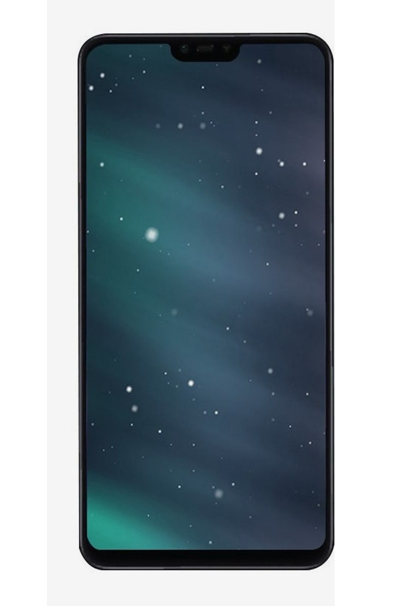 Display Frontal Xiaomi Mi 8 Lite / Mi 8X Sem Aro Preto 1 Linha