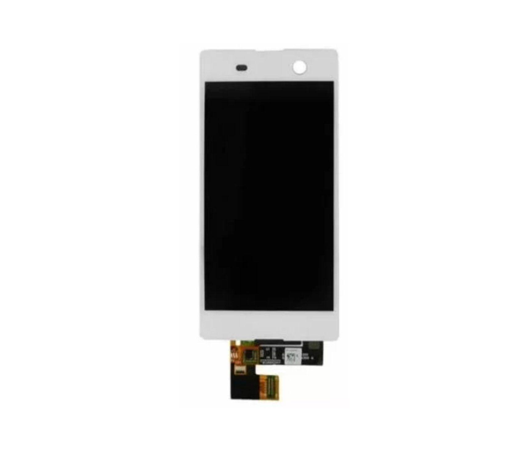 Display Frontal Sony M5 E5603 E5606 E5653 Branco sem Aro 1 Linha