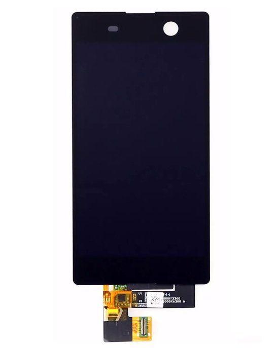 Display Frontal Sony M5 E5603 E5606 E5653 Preto Sem Aro 1 Linha