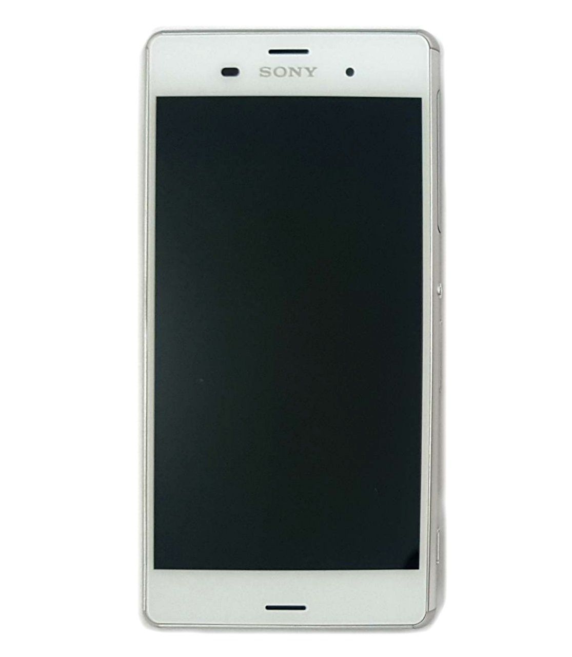 Display Frontal Sony Z3 D6633 D6653 Branco com Aro 2 Chip Original Retirado