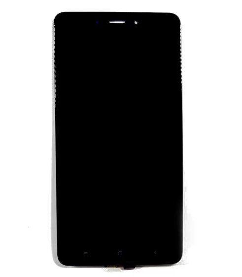 Frontal Xiaomi Redmi Note 4 Versão Mídia Teck MTK sem Aro Preto 1 Linha Max