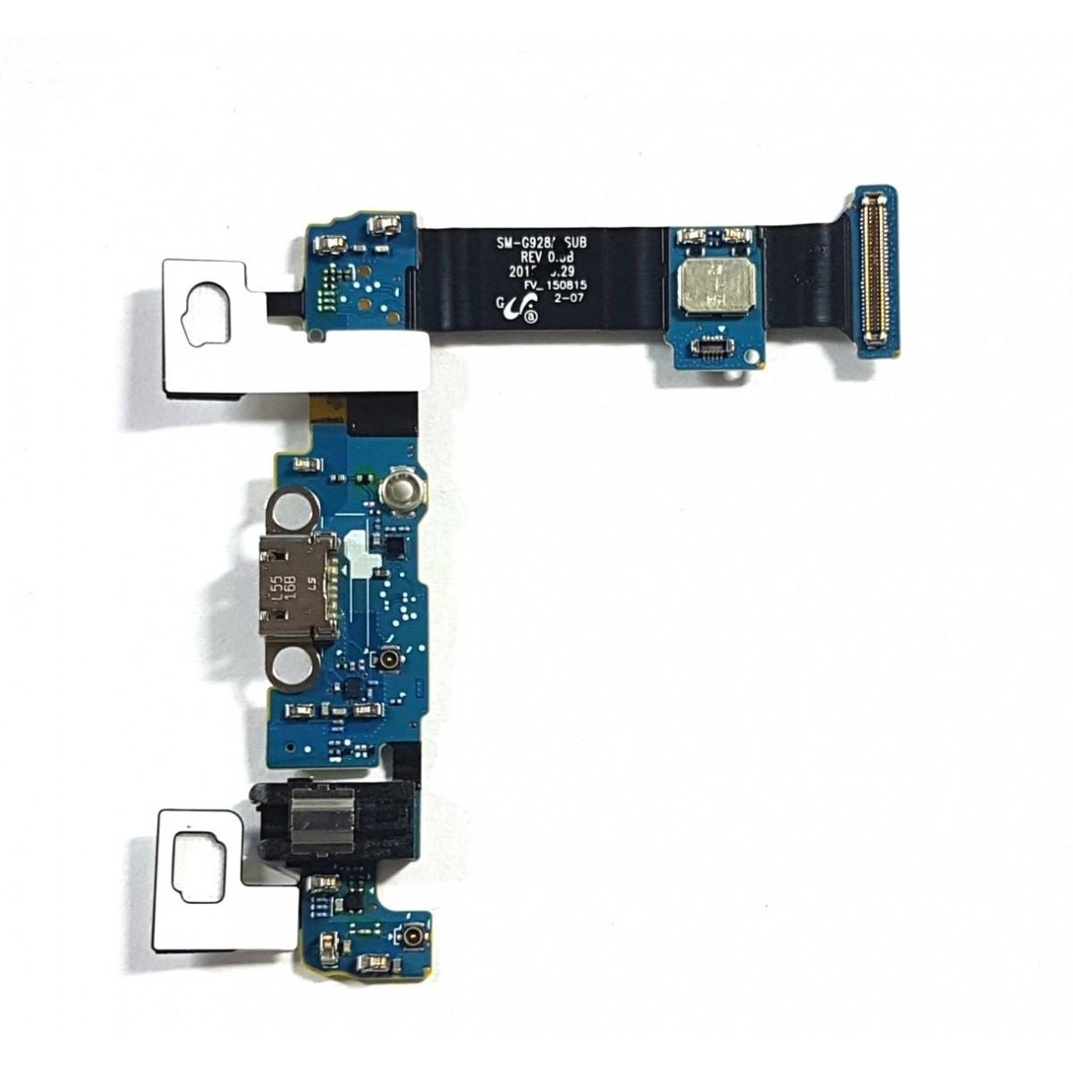 Flex Conector de Carga Samsung S6 Edge Plus G928i Versão i