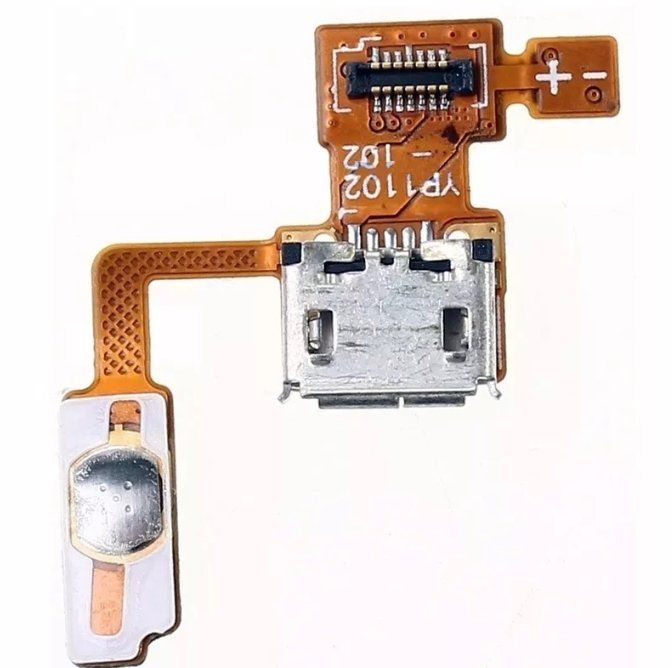 Flex Conector Carga e Power Lg P970 Optimus