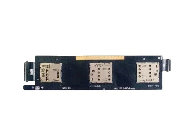 Flex Placa Asus Conector Do Chip Zenfone 6 A601 Sim Card