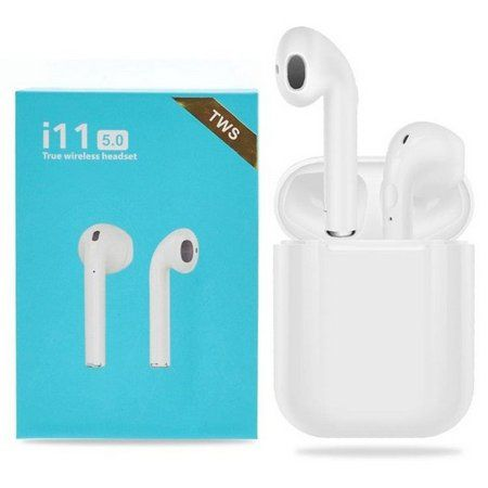 Fone Bluetooth Wireless i11 TWS  Branco