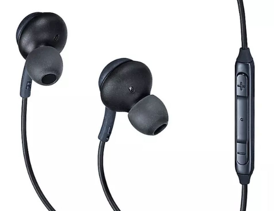 Fone de Ouvido Akg Compatível S8 S8 Plus Universal Cinza